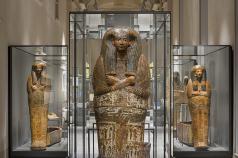 La Galleria dei Sarcofagi_museo dell'antico egitto